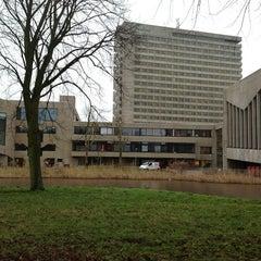 Photo taken at Erasmus University Rotterdam (EUR) by Kristina R. on 1/7/2013