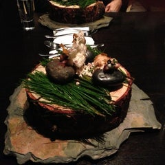 Photo taken at Alinea by Arisa K. on 12/18/2012