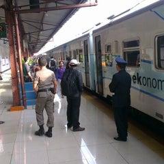 Photo taken at Stasiun Pasar Senen by Benny H. on 11/15/2012