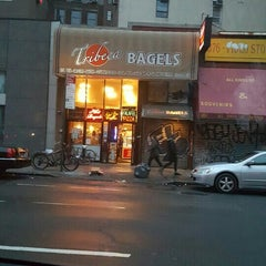 Photo taken at Tribeca Bagels by Eve Y. on 4/11/2016