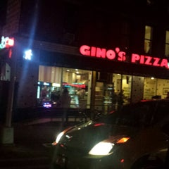 Photo taken at Gino's Pizza by Eve Y. on 10/20/2014