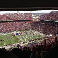 Photo taken at Williams-Brice Stadium by Danielle M. on 11/17/2012