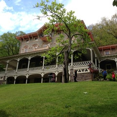 Photo taken at Asa Packer Mansion Museum by Tiffany C. on 5/12/2013
