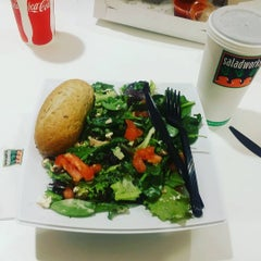 Photo taken at Saladworks by Marilyn J. on 3/14/2016