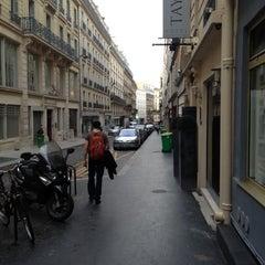 Photo taken at Hôtel Taylor by Nil F. on 4/17/2013