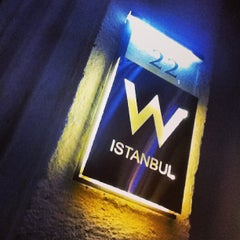 Photo taken at W Istanbul by Warren E. on 1/21/2013