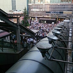 Photo taken at 横浜駅西口 バスターミナル by SOTETSU on 7/9/2013