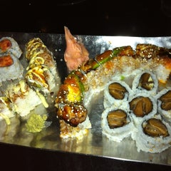 Photo taken at Coast Sushi Bar by Contessa G. on 9/22/2012