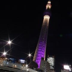 Photo taken at 大横川親水公園 by temaeno.hosomichi k. on 1/28/2016