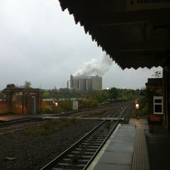 Photo taken at Bury St Edmunds Railway Station (BSE) by Rory H. on 10/21/2012