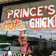 Photo taken at Prince's Hot Chicken Shack by Peter R. on 8/7/2015
