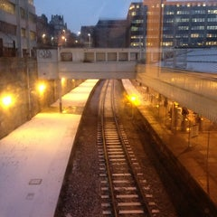 Photo taken at Aberdeen Railway Station (ABD) by Bruce S. on 1/23/2013