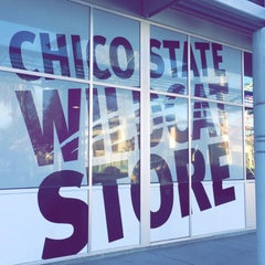 Photo taken at Chico State Wildcat Store by JOY M. on 2/15/2016