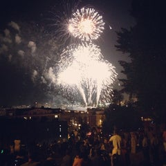 Photo taken at Federal Hill Park by kyle m. on 7/5/2013
