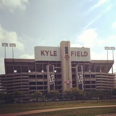 Photo taken at Kyle Field by Brittany M. on 5/5/2013