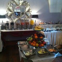 Photo taken at The Mark Luxury Hotel Prague by Leo P. on 4/20/2013