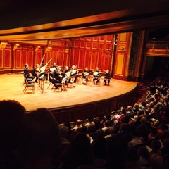 Photo taken at New England Conservatory's Jordan Hall by paddy M. on 6/11/2015