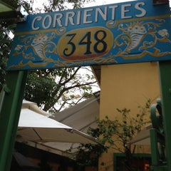 Photo taken at Corrientes 348 Parrilla Porteña by Fernanda J. on 10/19/2012