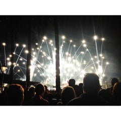 Photo taken at IllumiNations: Reflections of Earth by Farrah S. on 8/14/2013