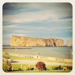Photo taken at Rocher Percé by Jan-Nicolas V. on 7/25/2013