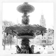 Photo taken at Fontaine de Tourny by Jan-Nicolas V. on 2/23/2013