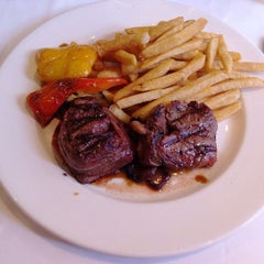 Photo taken at Vieux-Port Steakhouse by Abiel R. on 10/8/2012