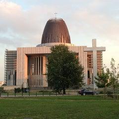 Photo taken at Świątynia Opatrzności Bożej by Cezary P. on 9/12/2013