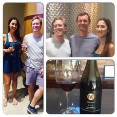 Photo taken at Andrew Murray Vineyards Tasting Room by Ashley U. on 9/15/2014