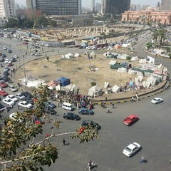 Photo taken at Tahrir Square   ميدان التحرير by Ahmed &. on 3/3/2013