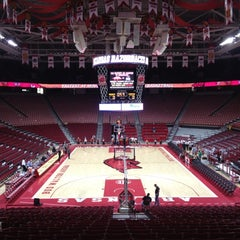 Photo taken at Bud Walton Arena by Adam B. on 11/30/2012
