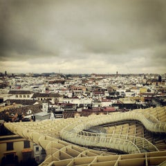 Photo taken at Metropol Parasol by Dovi D. on 11/30/2012