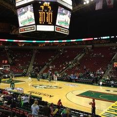 Photo taken at KeyArena at Seattle Center by Vicki L. on 10/1/2012