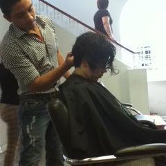 Photo taken at Hair Studio by Roxana C. on 12/18/2012