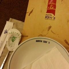 Photo taken at Auntie Kim's Korean Restaurant by Susanna C. on 5/13/2014