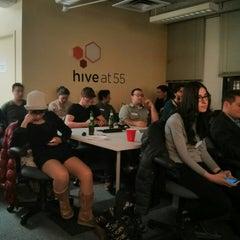 Photo taken at Hive at 55 by Paramendra B. on 3/25/2014