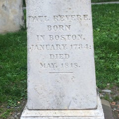 Photo taken at Paul Revere's Tomb by Melissa A. on 7/7/2015