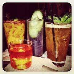 Photo taken at Trina's Starlite Lounge by Isa G. on 10/6/2012