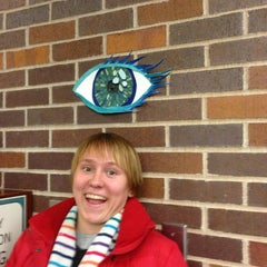 Photo taken at Washburn Library by Christine B. on 1/11/2013