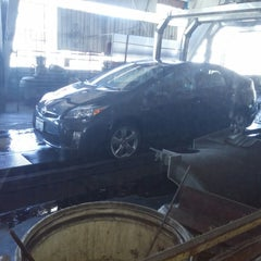 Photo taken at Olympic Car Wash by Mike A. on 10/5/2014