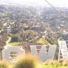 Photo taken at Hollywood Sign by Mike A. on 1/3/2013
