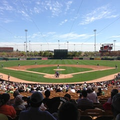 Photo taken at Camelback Ranch - Glendale by John C. on 3/16/2013
