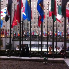 Photo taken at 30 Rockefeller Plaza by Stacey F. on 3/11/2013