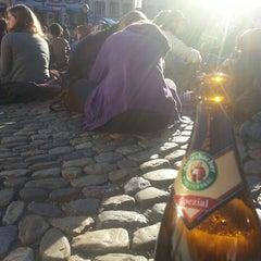 Photo taken at Augustinerplatz by leonard w. on 2/20/2014
