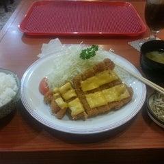 Photo taken at Tonkatsuya by Marissa B. on 2/7/2014