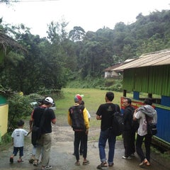 Photo taken at Wisata air terjun curug luhur (bogor) by Taufiq Hari W. on 1/24/2013