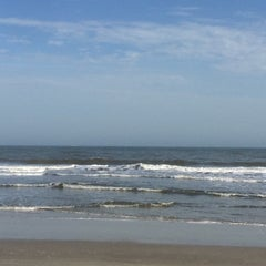Photo taken at Burkes Beach by Myers B. on 3/14/2015