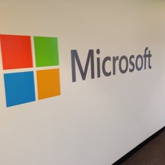 Photo taken at Microsoft by Pete P. on 4/3/2014