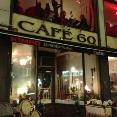 Photo taken at Café 60 by Natasha A. on 1/23/2013