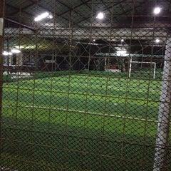 Photo taken at Cimahpar Futsal by Dede W. on 7/29/2014