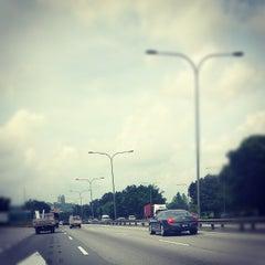Photo taken at Lebuhraya Persekutuan (Federal Highway) by Anas A. on 1/7/2013